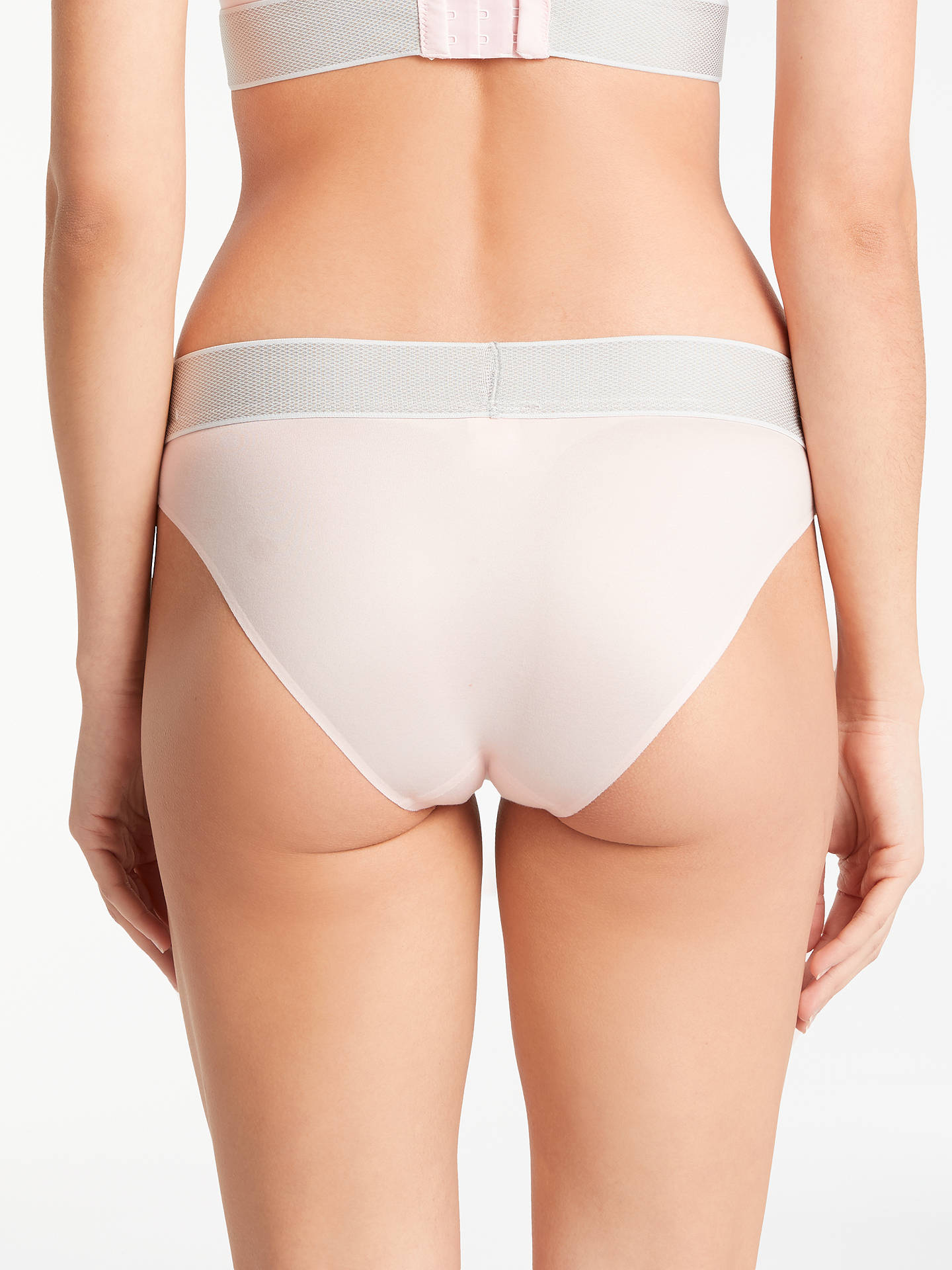 BuyCalvin Klein Underwear Customized Stretch Bikini Briefs, Attract, L Online at johnlewis.com