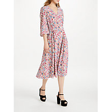 Buy Somerset by Alice Temperley Fireflower Midi Dress, White Mix Online at johnlewis.com