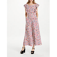 Buy Somerset by Alice Temperley Fireflower Jumpsuit, White Mix Online at johnlewis.com