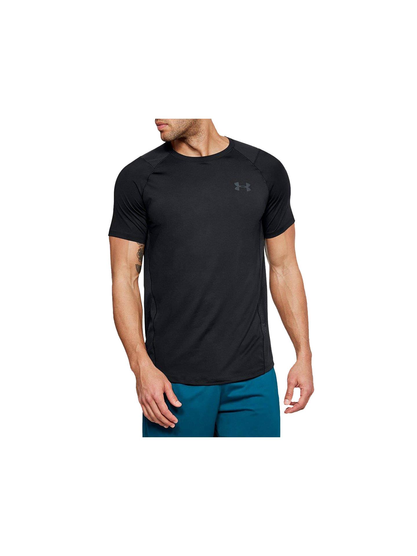 0d5906e91b Buy Under Armour Raid 2 Short Sleeve Training T-Shirt, Black, S Online ...