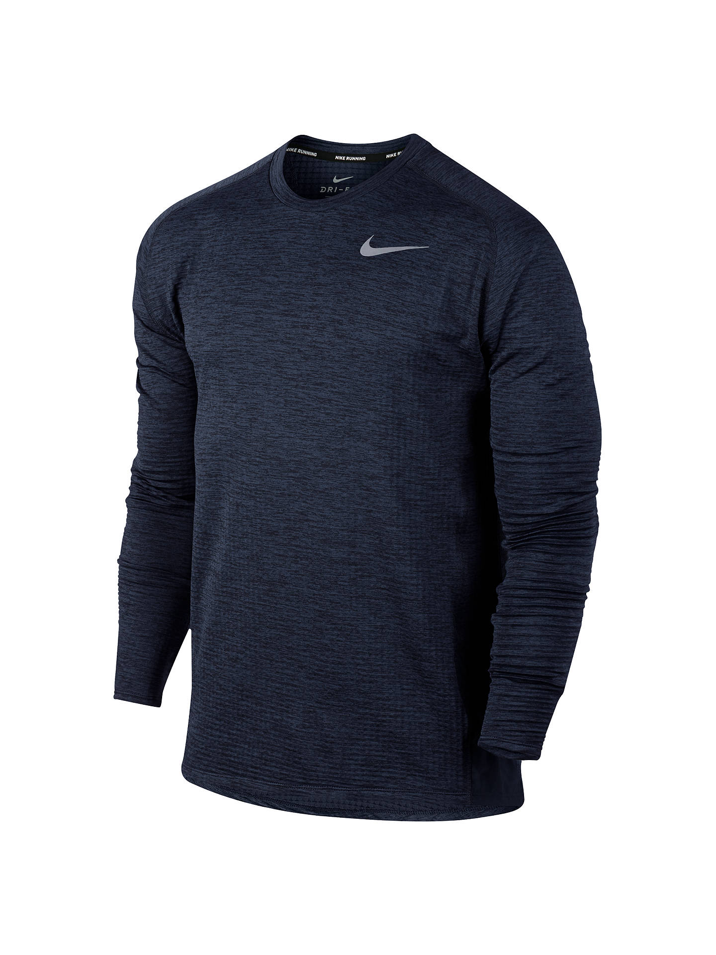 a55137eed Buy Nike Therma Sphere Element Running Top, Obsidian Black/Heather, S  Online at ...