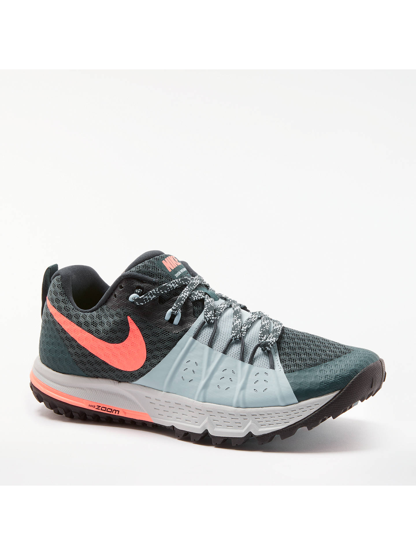 first rate 2efc5 6d47d ... Buy Nike Air Zoom Wildhorse 4 Women s Running Shoes, Black White Grey,  ...