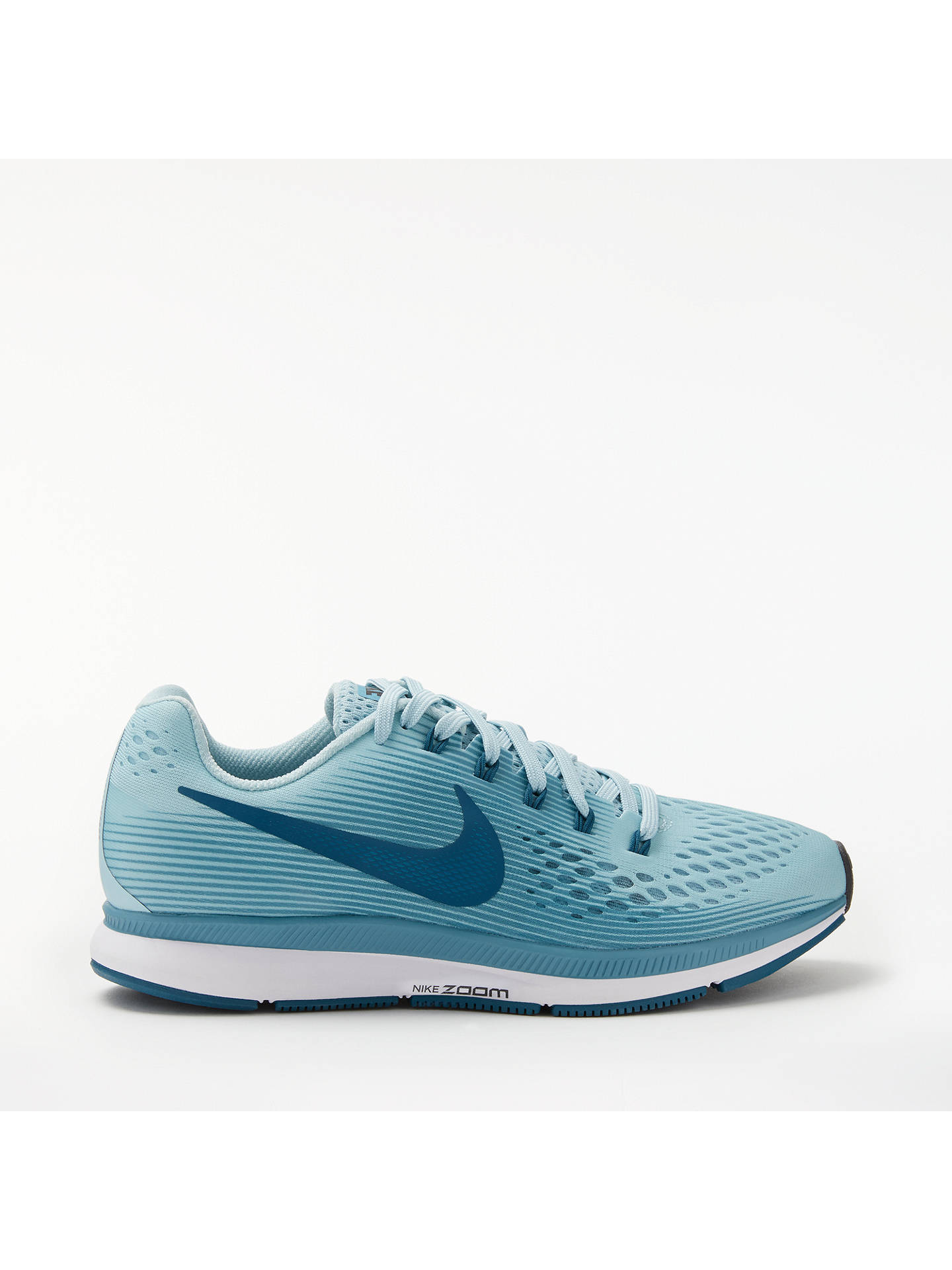 BuyNike Air Zoom Pegasus 34 Womens Running Shoes, Blue, 4 Online at  johnlewis.