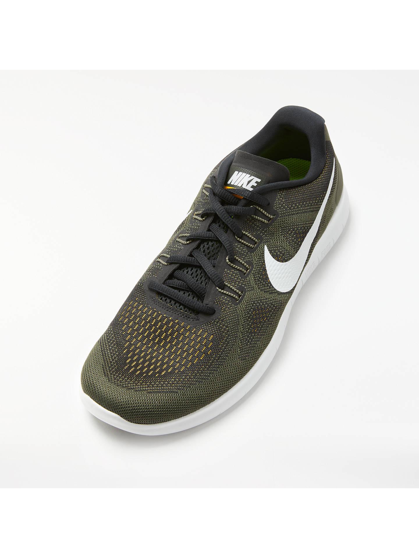 Nike Free RN 2017 Men's Running Shoe, BlackOff White at