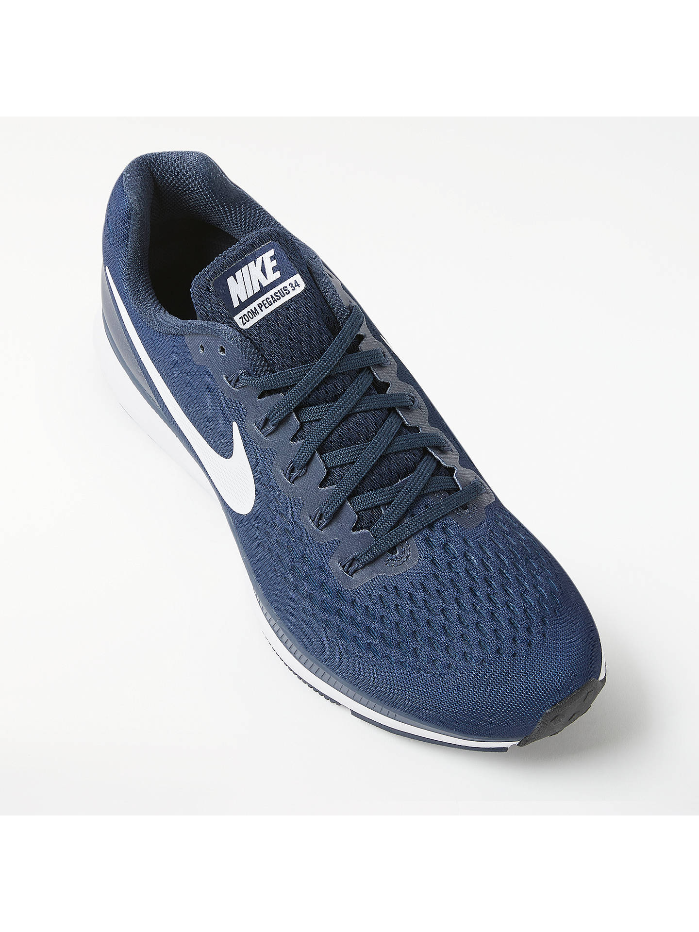 brand new a86ca fa50a ... Buy Nike Air Zoom Pegasus 34 Men s Running Shoes, Obsidian White Thunder  Blue