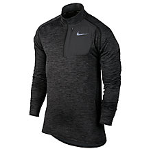 Buy Nike Therma Sphere Element Running Top, Black/Heather/Anthracite Online at johnlewis.com