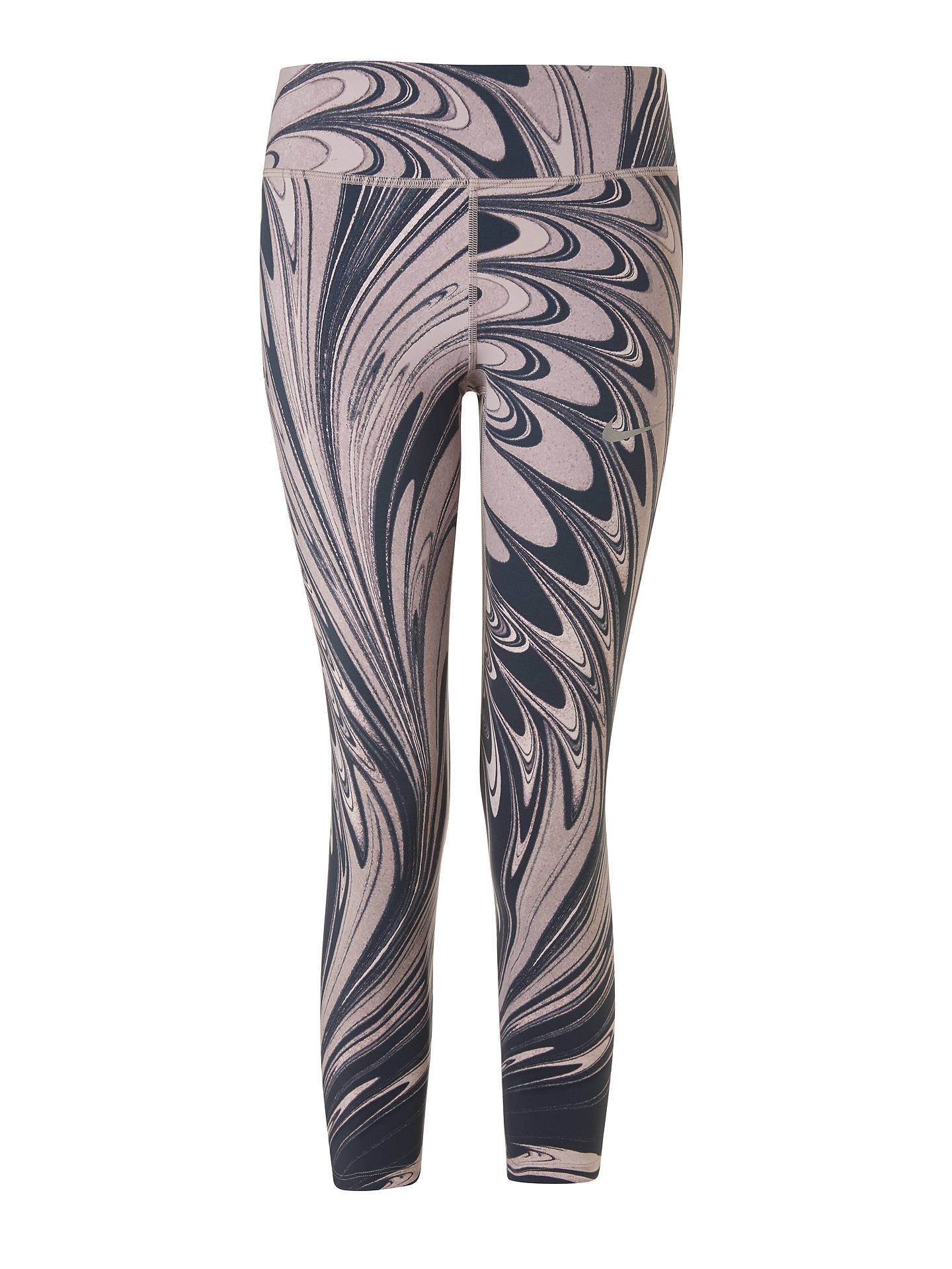 0b280642ee4ee1 Buy Nike Power Epic Lux Running Crops Leggings, Particle Rose/Thunder Blue,  XS