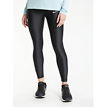Buy Nike Speed 7/8 Running Tights, Black Online at johnlewis.com