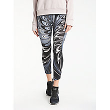 Buy Nike Power Epic Lux Printed Cropped Running Tights, Thunder Blue/Black Online at johnlewis.com