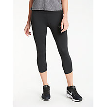 Buy Nike Power Epic Running Tights, Black Online at johnlewis.com