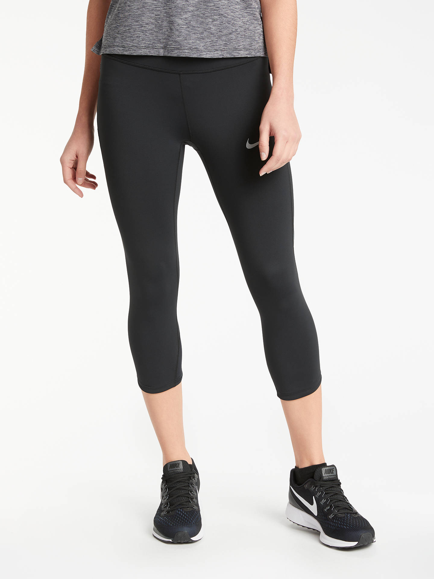 6c8cbe2f7103a5 Buy Nike Power Epic Running Tights, Black, XS Online at johnlewis.com ...