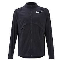 Buy Nike Shield Convertible Running Jacket, Black Online at johnlewis.com