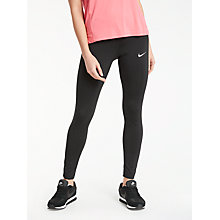 Buy Nike Running Tights, Black Online at johnlewis.com