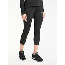 Buy Nike Epic Power Running Tights, Black Online at johnlewis.com