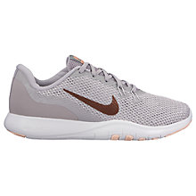 Buy Nike Free Form TR Women's Trainers, Grey/Red Bronze Online at johnlewis.com