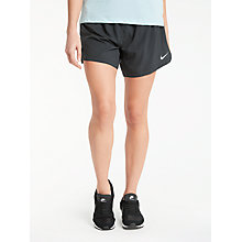 Buy Nike Elevate Running Shorts, Black Online at johnlewis.com