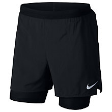 Buy Nike Flex Stride 2 in 1 Running Shorts, Black Online at johnlewis.com