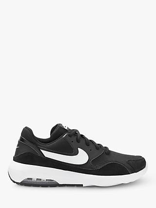 Nike Air Max 90 Essential Men's Trainers, Black/White