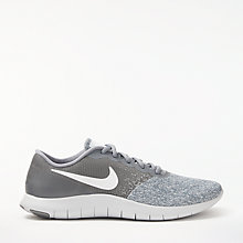 Buy Nike's Flex Contact Men's Running Shoe, Cool Grey Online at johnlewis.com