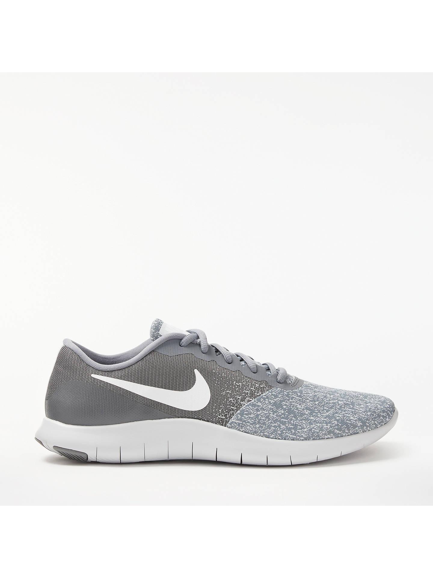 Nuestra compañía Relajante Residencia  Nike's Flex Contact Men's Running Shoe, Cool Grey at John Lewis & Partners