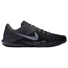 Buy Nike Retaliation TR Men's Training Shoes, Black/Grey Online at johnlewis.com