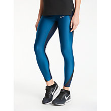 Buy Nike Power Speed Running Tights, Thunder Blue Online at johnlewis.com