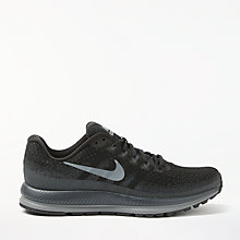 Buy Nike Air Zoom Vomero 13 Men's Running Shoes, Black/Anthracite Online at johnlewis.com