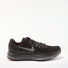 Buy Nike Air Zoom Vomero 13 Women's Running Shoes, Black Online at johnlewis.com