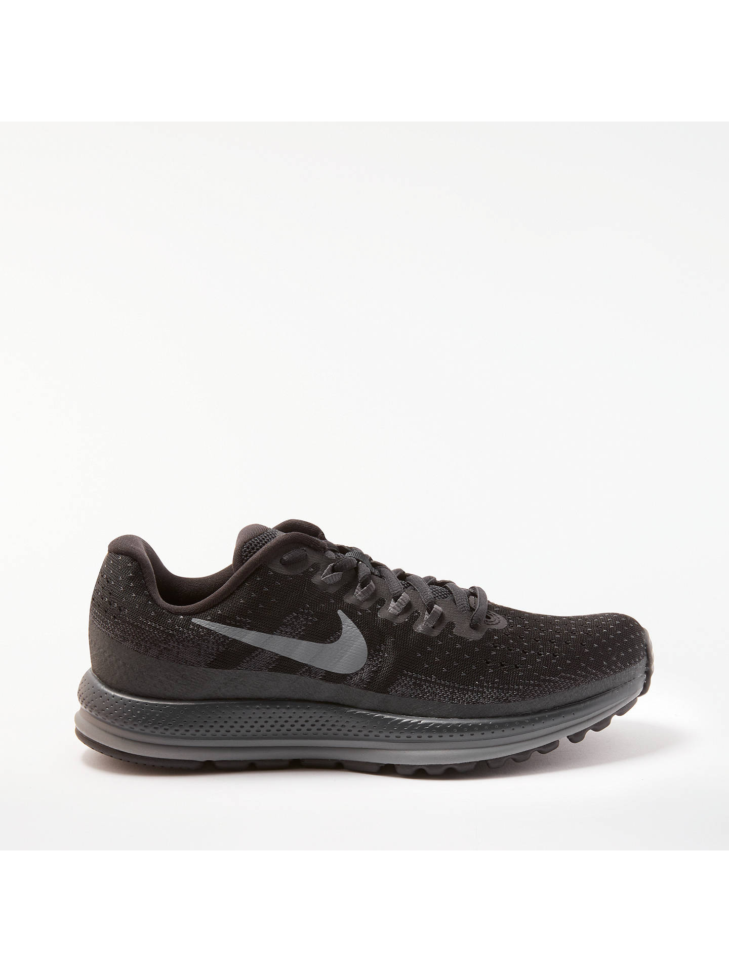 newest collection e7b12 79789 Buy Nike Air Zoom Vomero 13 Women s Running Shoes, Black, 4 Online at  johnlewis ...