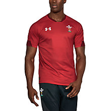 Buy Under Armour Official Welsh Rugby Union Supporters Shirt, Red Online at johnlewis.com