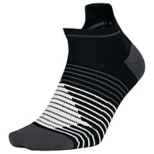Buy Nike Performance Lightweight No-Show Running Socks, Pack of 2 Online at johnlewis.com