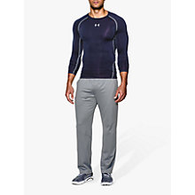 Buy Under Armour HeatGear Armour Long Sleeve Compression Shirt Online at johnlewis.com