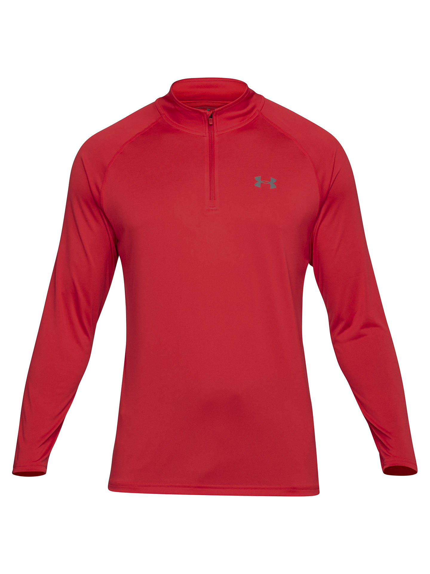 9691c4a8d Under Armour Tech 1/4 Zip Long Sleeve Top at John Lewis & Partners