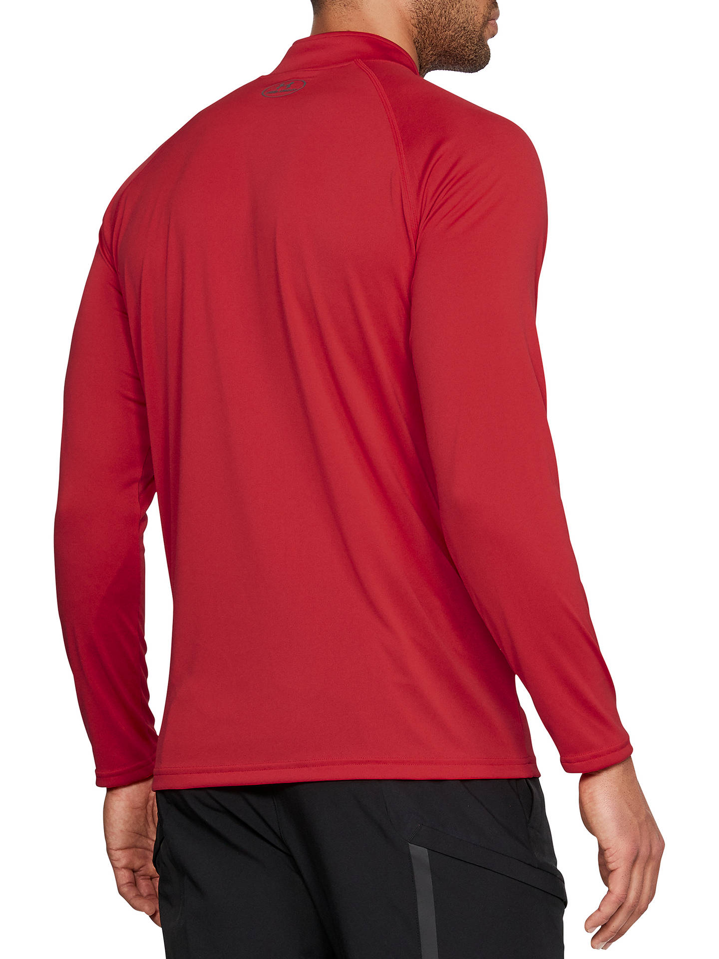 4050f9d31 ... Buy Under Armour Tech 1/4 Zip Long Sleeve Top, Pierce Red, XL ...