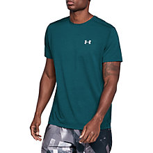 Buy Under Armour Threadborne Streaker Short Sleeve Running Top Online at johnlewis.com