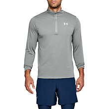 Buy Under Armour Threadborne Streaker 1/2 Zip Running Top, Clay Green/Reflective Online at johnlewis.com