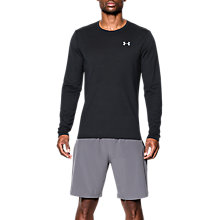 Buy Under Armour Threadborne Streaker Long Sleeve Running Top, Black/Steel/Reflective Online at johnlewis.com