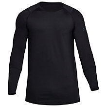 Buy Under Armour Raid Long Sleeve Training Top, Black Online at johnlewis.com