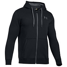 Buy Under Armour Storm Rival Hoodie, Black Online at johnlewis.com