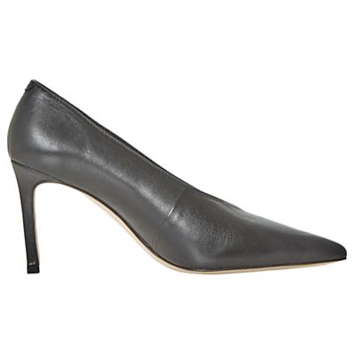 Dune Black Amigos Stiletto Heeled Court Shoes