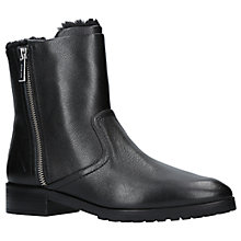 Buy MICHAEL Michael Kors Andi Ankle Boots, Black Leather Online at johnlewis.com