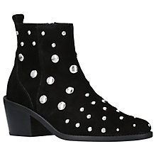 Buy Kurt Geiger Dome Embellished Block Heeled Ankle Boots Online at johnlewis.com