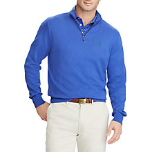 Buy Polo Golf by Ralph Lauren Pima Cotton Half Zip Jumper Online at johnlewis.com