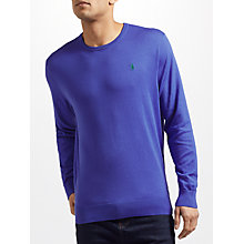 Buy Polo Golf by Ralph Lauren Long Sleeve Crew Neck Sweater Online at johnlewis.com