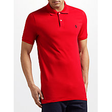 Buy Polo Golf by Ralph Lauren Pro-Fit Polo Shirt, Red Online at johnlewis.com