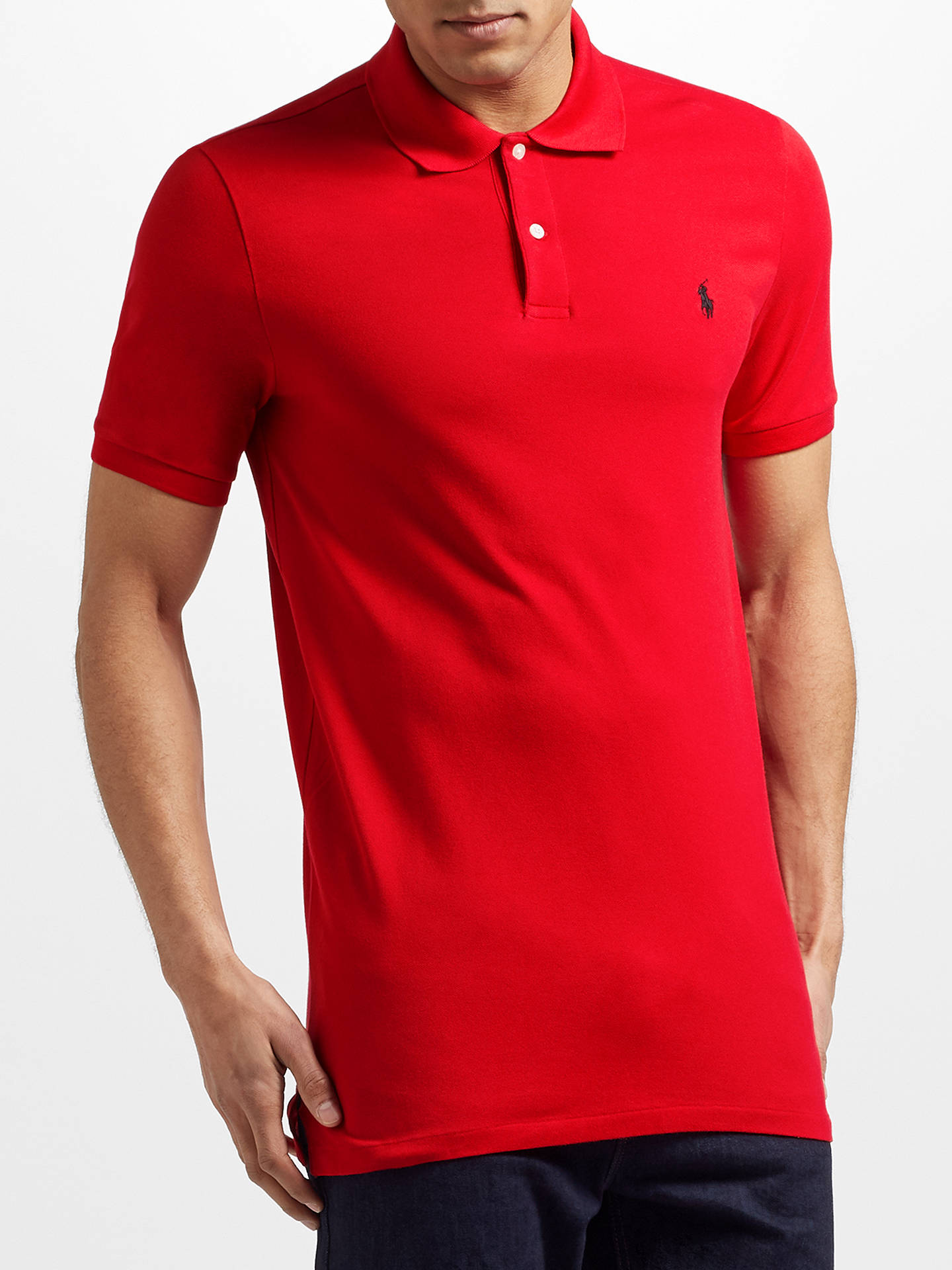 dd07500df Buy Polo Golf by Ralph Lauren Pro-Fit Polo Shirt, Red, S Online ...