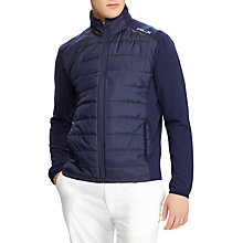 Buy Polo Golf by Ralph Lauren Cool Wool RLX Jacket, French Navy Online at johnlewis.com