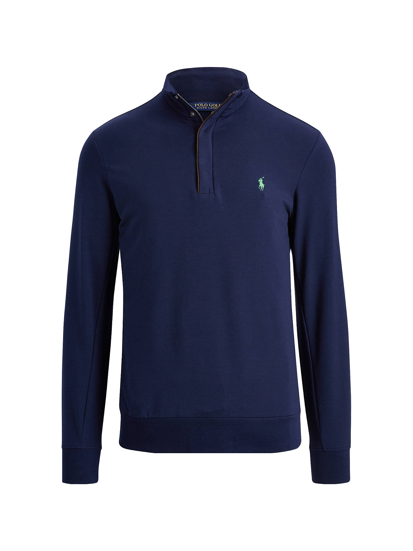 BuyPolo Golf By Ralph Lauren Half Zip Top, French Navy, S Online at johnlewis.com