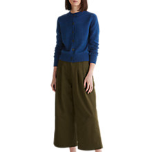 Buy Toast Mouliné Cardigan, Blue Online at johnlewis.com