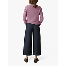 Buy Toast Denim Cropped Trousers, Indigo Online at johnlewis.com